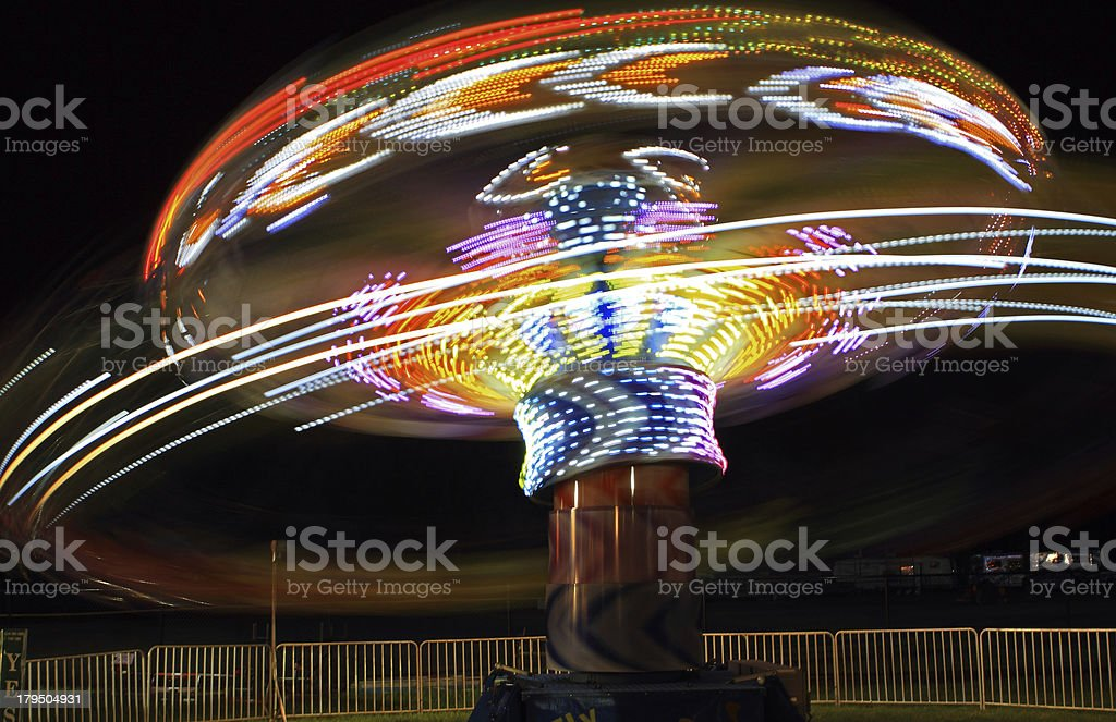 Amusement Park Ride royalty-free stock photo