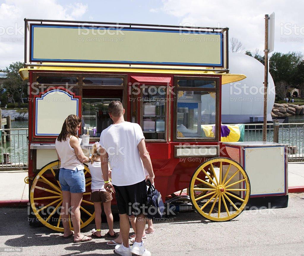 Parco divertimenti Coni di granita foto stock royalty-free