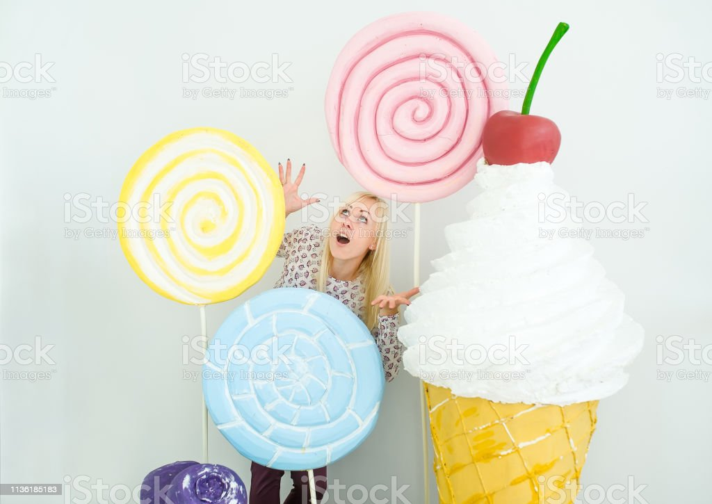 Amusing Blonde Girl Express Surprise On Decorated Background With Sweets Stock Photo Download Image Now Istock Not many of us realise that salt is hidden in everyday foods that don't taste that salty. https www istockphoto com photo amusing blonde girl express surprise on decorated background with sweets gm1136185183 302513153