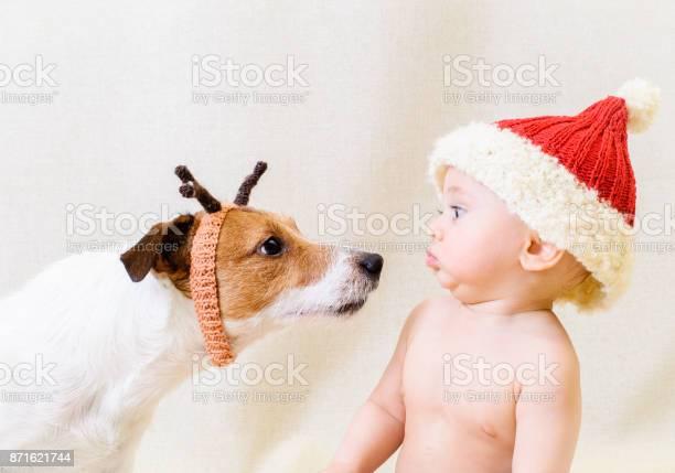 Amusing santa claus meets funny reindeer concept for 2018 year of picture id871621744?b=1&k=6&m=871621744&s=612x612&h=n9iyo0xjjnbufjnskn3fpub80y5hhqlzclh3yahjxnq=