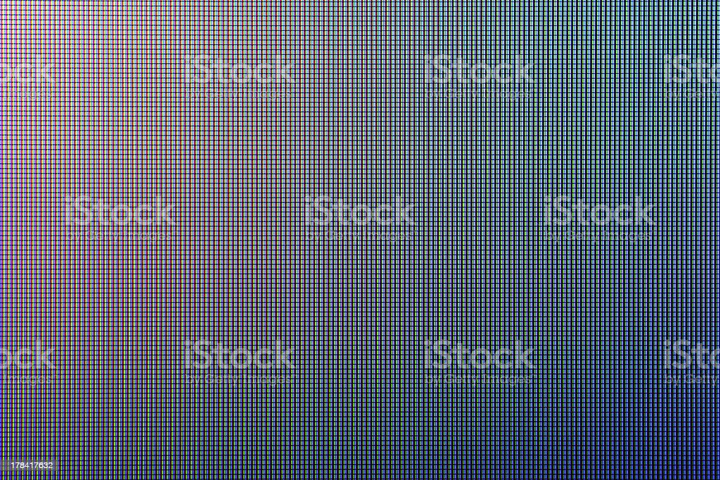 An abstract blue and gray LED screen stock photo
