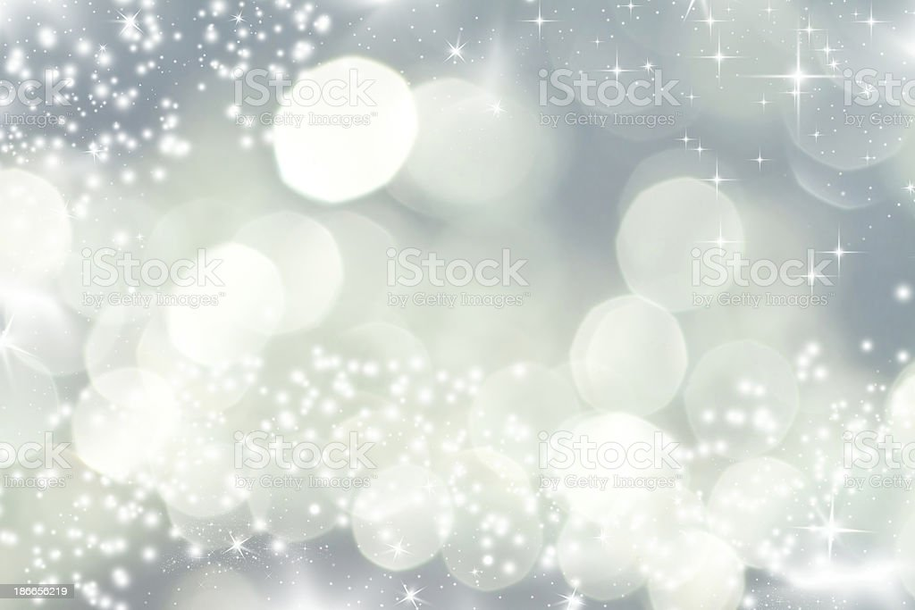 An abstract Christmas lights background royalty-free stock photo