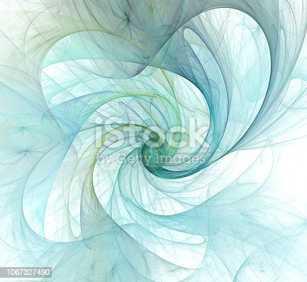 istock An abstract computer generated modern fractal design. Abstract fractal color texture. Digital art. Abstract Form & Colors. Abstract fractal element for your design. 1067327490