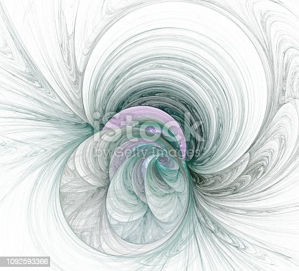 istock An abstract computer generated modern fractal design. Abstract fractal color texture. Digital art. Abstract Form & Colors. Abstract fractal element for your design. 1092593366