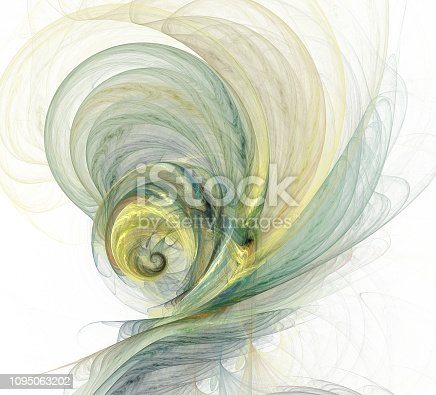 istock An abstract computer generated modern fractal design. Abstract fractal color texture. Digital art. Abstract Form & Colors. Abstract fractal element for your design. 1095063202
