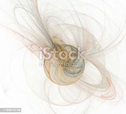 istock An abstract computer generated modern fractal design. Abstract fractal color texture. Digital art. Abstract Form & Colors. Abstract fractal element for your design. 1135679748