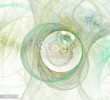 istock An abstract computer generated modern fractal design. Abstract fractal color texture. Digital art. Abstract Form & Colors. Abstract fractal element for your design. 1135679778
