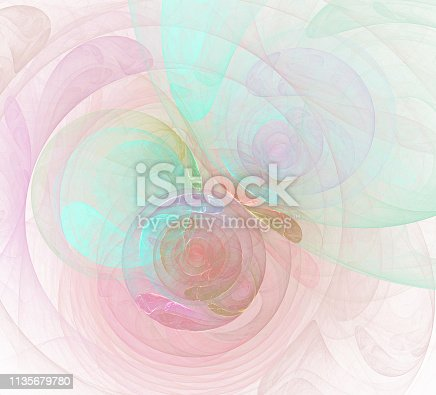 istock An abstract computer generated modern fractal design. Abstract fractal color texture. Digital art. Abstract Form & Colors. Abstract fractal element for your design. 1135679780