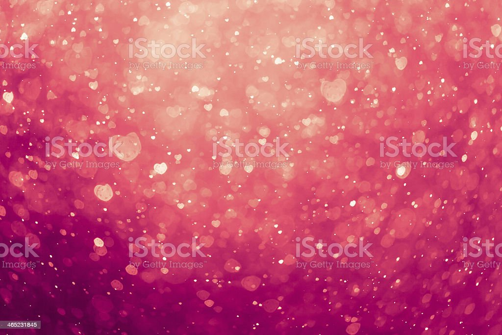 An abstract image of a pink hearts background stock photo