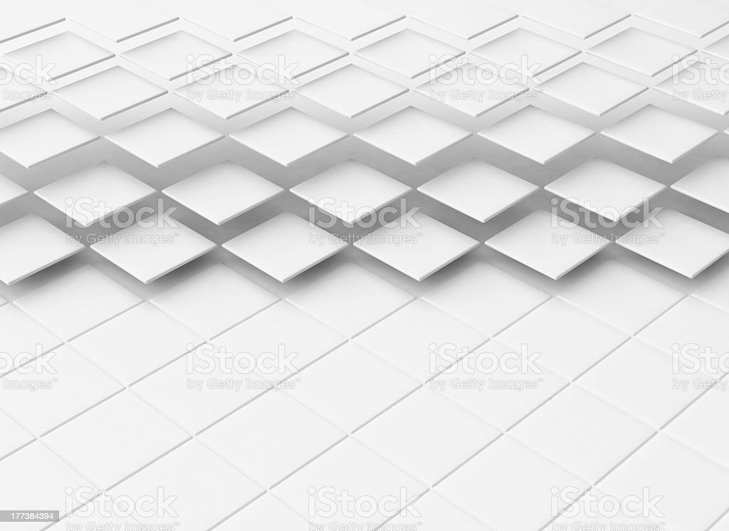 An abstract square tiled background royalty-free stock photo