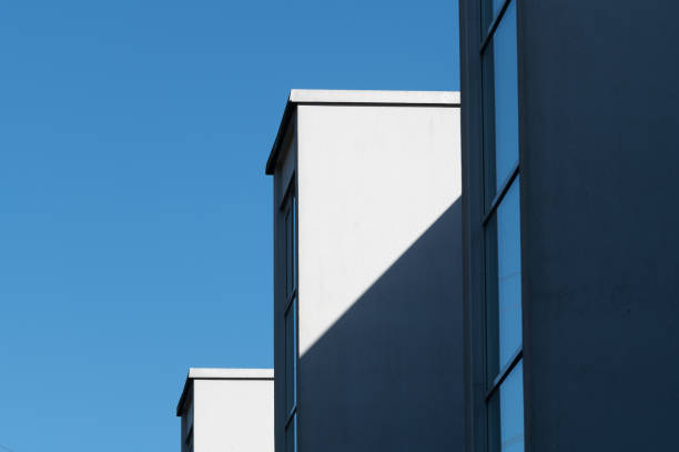 An abstract view of the residential building stock photo