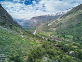 Cajon del Maipo is a valley close to Santiago de Chile on an easy drive, is an amazing place for rafting, rock climbing or just have some relaxing hike