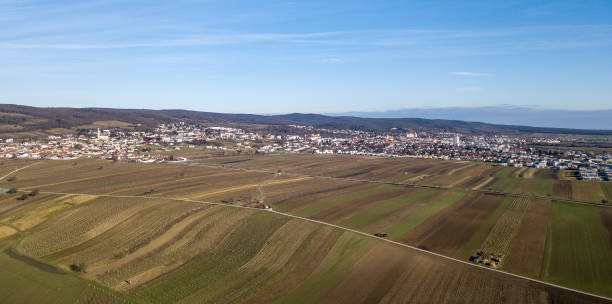 Leithagebirge、オーストリア、ブルゲンラント州アイゼンシュタットの撮 ストックフォト