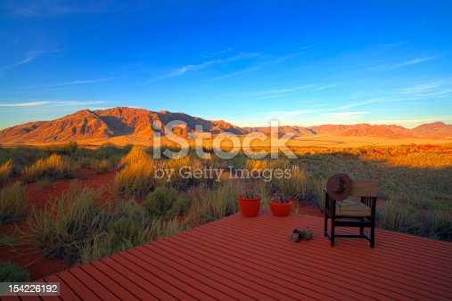 istock An afar view of The Losberg in Namibia 154226192