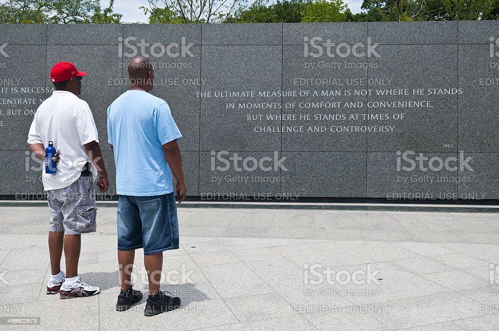 Besuchen Sie die Martin Luther King Memorial in Washington, DC – Foto
