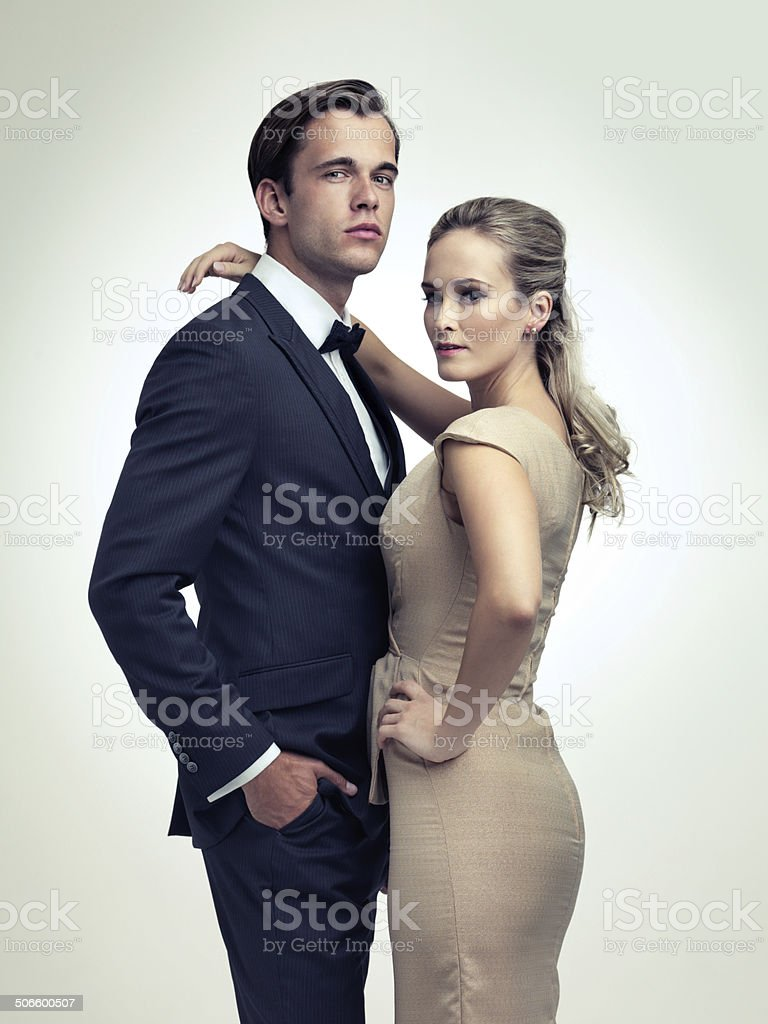 An air of sophistication stock photo