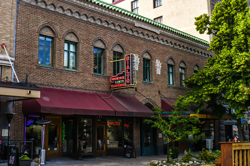 An alcoholic beverages eatery in Helena, Montana