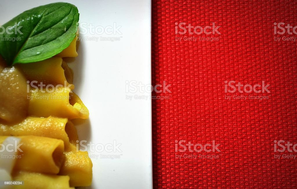 Un tricolore tutto italiano stock photo