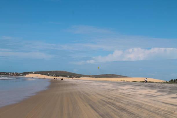 An amazing Brazilian tropical Beach - Jericoacoara - Ceará - Brazil