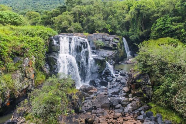 An amazing waterfall in Poços de Caldas - MG