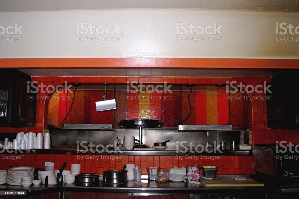 Ein American Dinerküche Stockfoto und mehr Bilder von 1950 ...