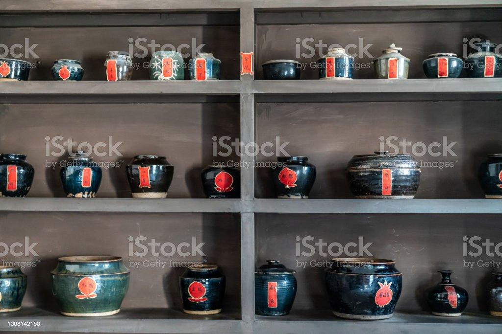 Ancient Chinese kitchen utensils