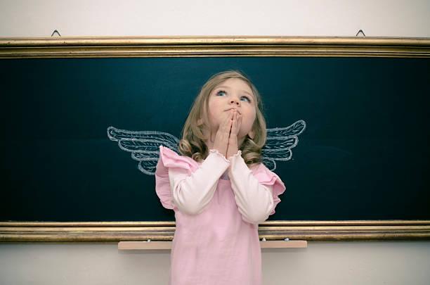 ein engel - engel zeichnen stock-fotos und bilder