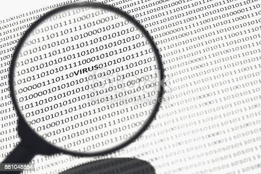 686526046istockphoto An anti virus software concept image. This image has selective focusing. 881048854