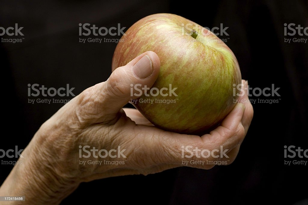 'An apple a day keeps the doctor away' stock photo