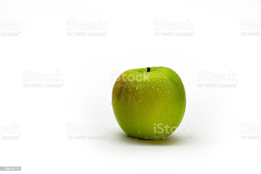 An Apple a Day royalty-free stock photo