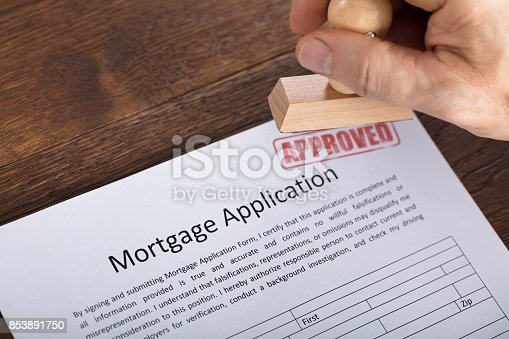 istock An Approved Stamp On Mortgage Application Form 853891750