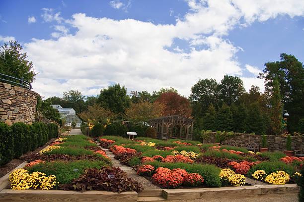 An arboretum in North Carolina