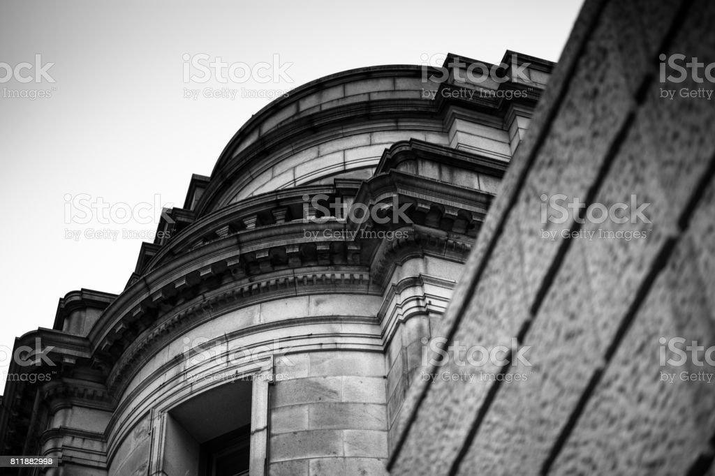 古風な建物。 ストックフォト
