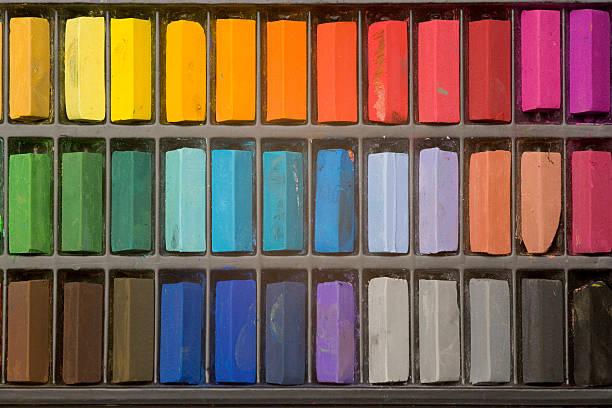 Artistes tons pastel - Photo