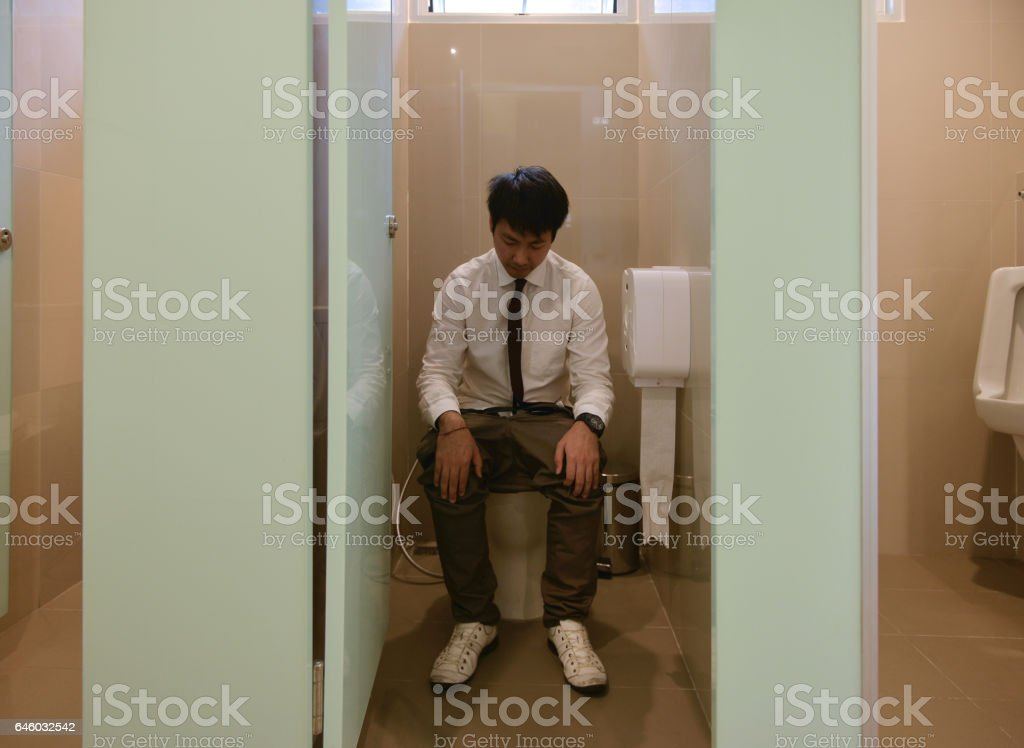 Asians pooping