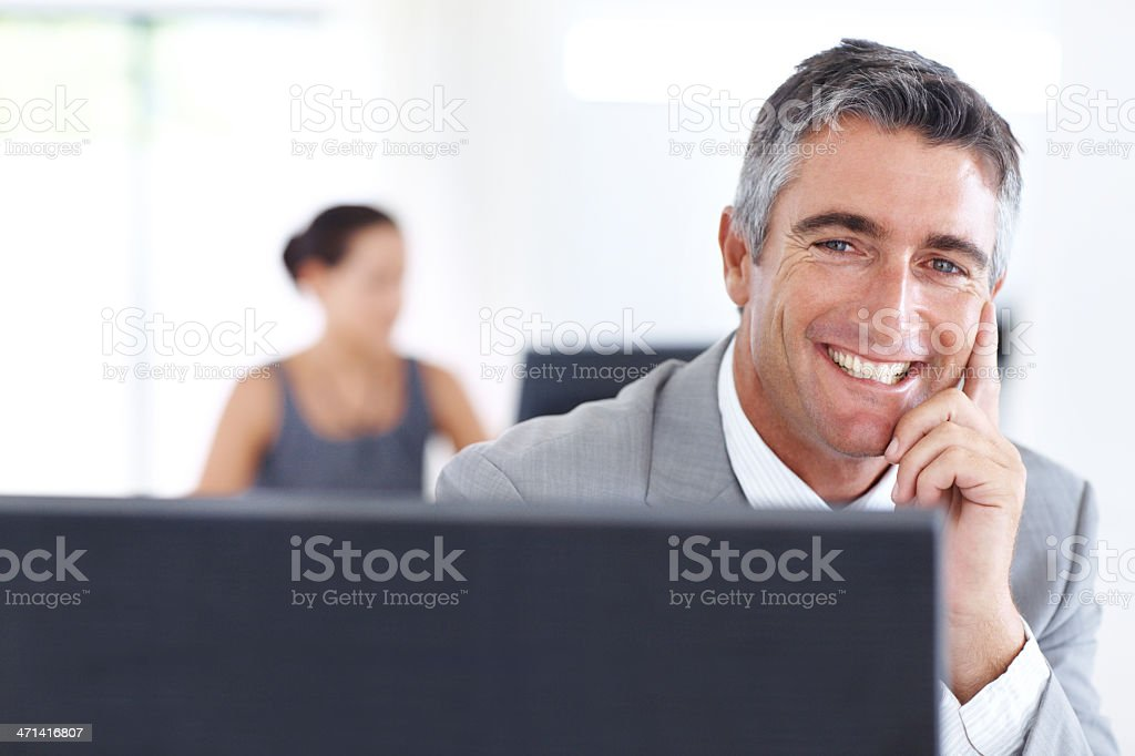 An asset to the company royalty-free stock photo