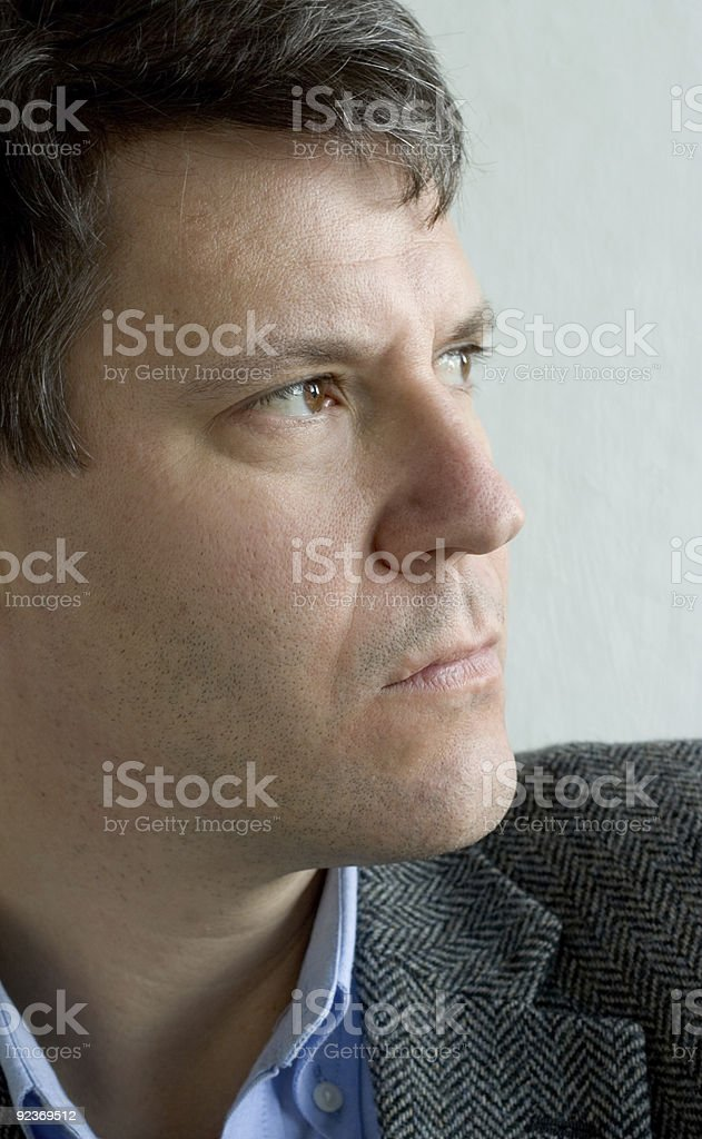 An Attractive Man royalty-free stock photo