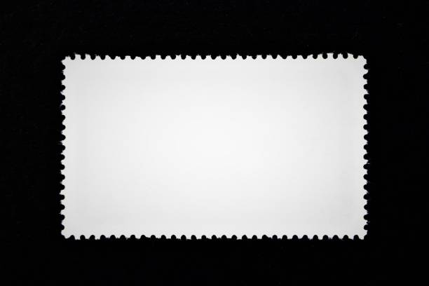 빈 우표, 우표의 컨셉 이미지 - stamp 뉴스 사진 이미지