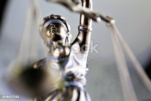 istock An concept Image of a justice statue 918427244