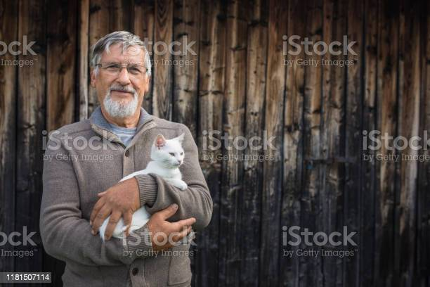 An elderly man holds a cute white kitten picture id1181507114?b=1&k=6&m=1181507114&s=612x612&h=zn7on33d32fx5g0wfd5b51ldnr70tmrshuw4 wlln1a=