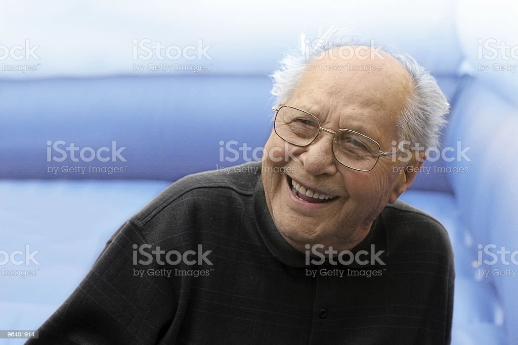 An elderly man smiling brightly - Royalty-free Active Seniors Stock Photo