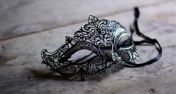 an elegant ancient mask