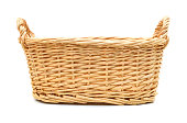 istock An empty basket on a white background 952640046