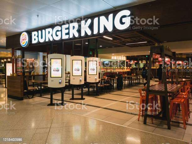 An empty burger king restaurant inside the departure hall of athens picture id1215402595?b=1&k=6&m=1215402595&s=612x612&h=xqf1k2aqzfchk mdcty99s4i54xd3nixv4maoj7atxk=