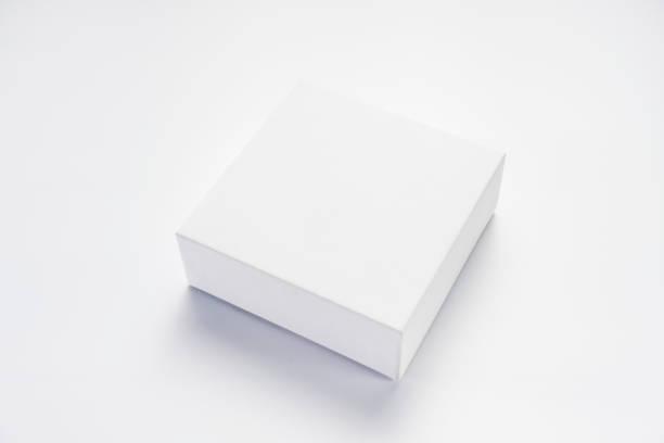uma caixa vazia branca - box - fotografias e filmes do acervo