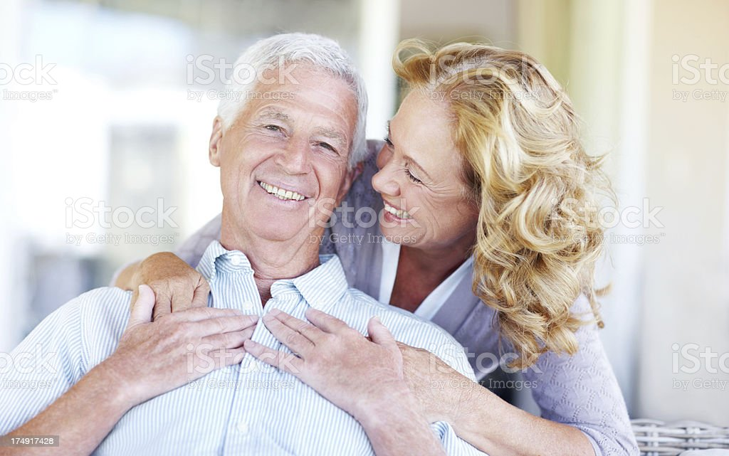 An example of the perfect couple royalty-free stock photo