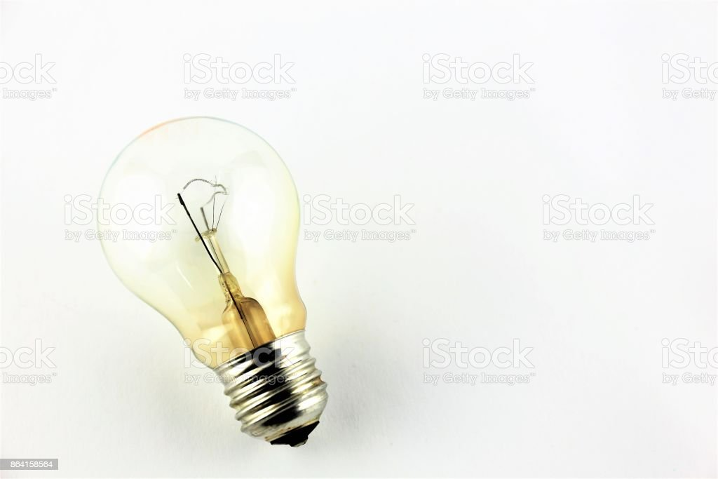 An Image of a lightbulb royalty-free stock photo