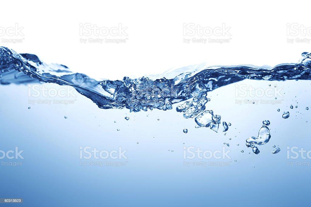 Water Wasseroberfläche Lizenzfreies stock-foto