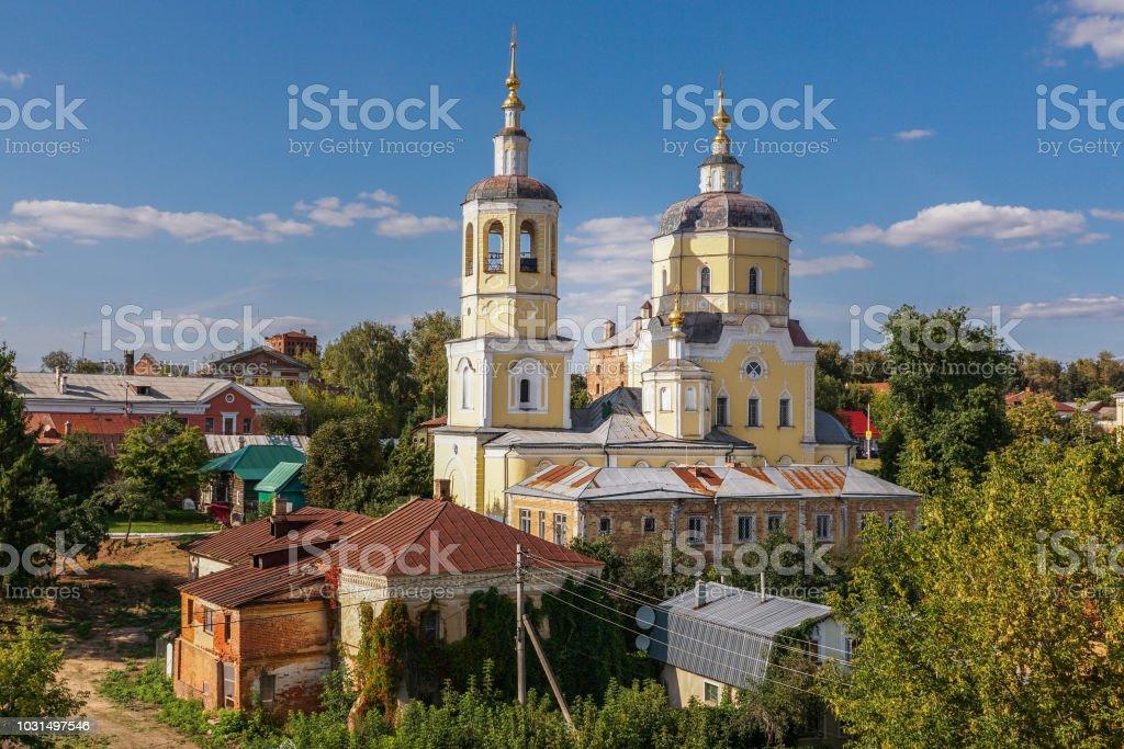 Une image d'église de l'Assomption de la Sainte Vierge; Serpoukhov; Russie. - Photo