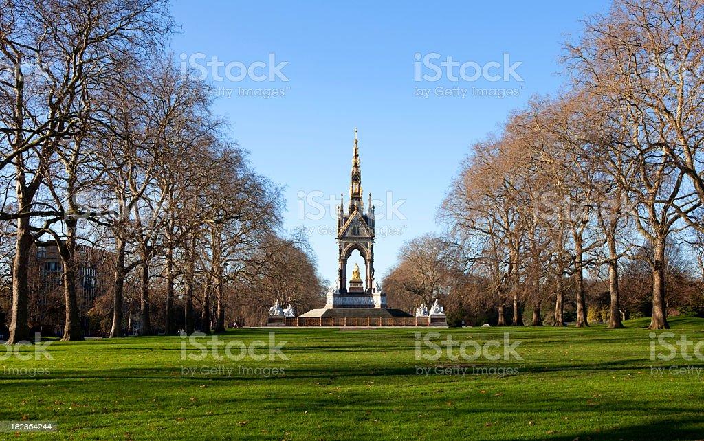 An image of London's Albert Memorial stock photo